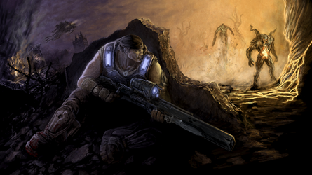 Gears of War by CrescentDebris