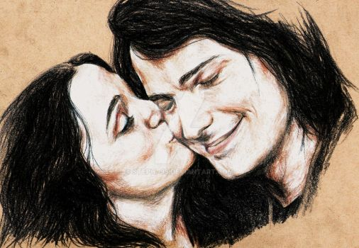 Dimitri and Rose. by steph--95