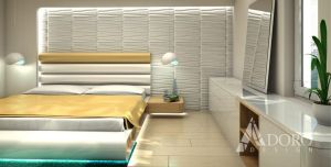 Bedroom Interior Design 02 by adorodesign