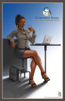 Corporate Angel by transfuse