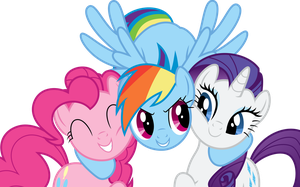 Happy Three Friends by MacTavish1996