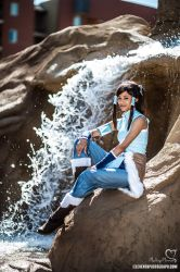 Korra cosplay - Waterfall by the-mirror-melts