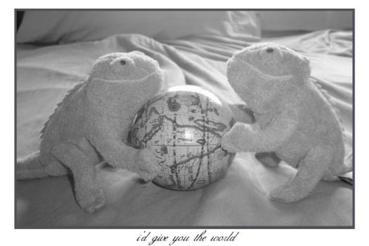 I'd give you the world by cooper