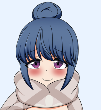 Rin Shima - Yuru Camp by zeckos