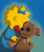 Baby and Bear by TheFightingMongooses