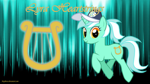Lyra Heartstrings Ponytail Wallpaper by brightrai