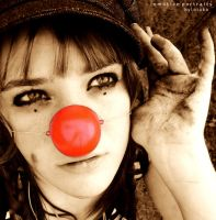 The Clown by byluluka