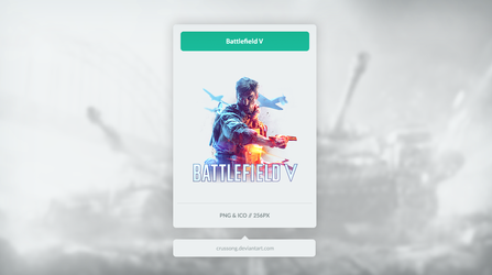 Battlefield V - Icon by Crussong