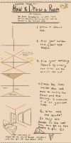 How to Draw a Room in Two Point Perspective by Bigsleeves-Arts