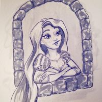 When will my life begin? Tangled by mliddam