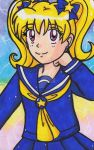 Charlotte Redraw 2008-2018: In Marker by Magical-Mama