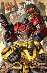 Fall of Cybertron Autobots by Dan-the-artguy