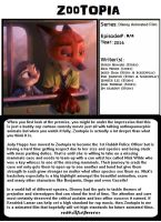 Zootopia-1001 Animations by redwallfanforever