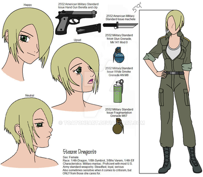 Simone Reference Art - Plz comment by ToAtoneArt