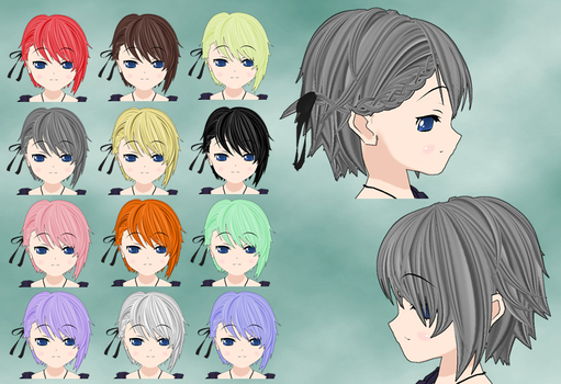 Ange Hair pack by Daiger1975