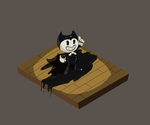 Pixelart Bendy by pink-ninja