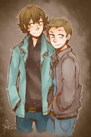 Winchester Bros by Life-Writer