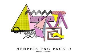 211016.memphis png pack .1 made by trang0801 by t-cattleya