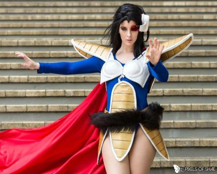 PRINCESS VEGETA COSPLAY - BLONDIEE by BlondieeGaming