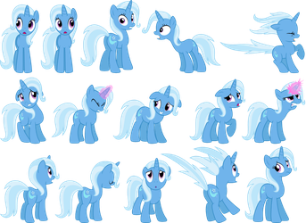 Trixie Vectors Set 5 by Jeatz-Axl