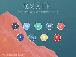 Socialite Icons by SierraDesign
