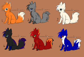 fox adopts! :open: by TheAdoptArtist