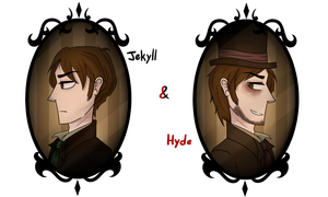 Dr.Jekyll and Edward Hyde by Nawkien
