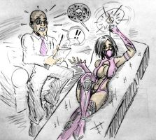 Mileena In Therapy by JTMolloy