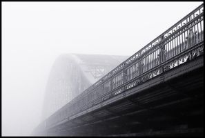 ..Foggy Bridge.. by lectral
