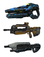 Halo 4 | Skins of the weapons by Goyo-Noble-141