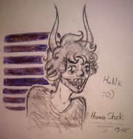 Gamzee sketch  by sqoodio