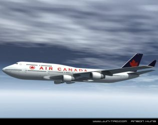 air canada 747 by juntao