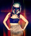 Sunny Suicide Cos Play Boba Fett SuicideGirls by VisualEyeCandy
