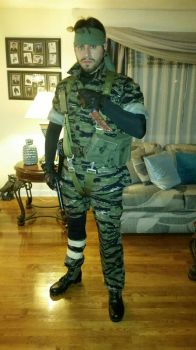 Naked Snake Cosplay Complete by BlueLaguna88
