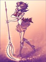 Sailor Saturn by Vanilleon