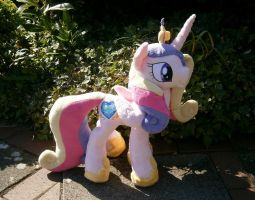 Handmade MLP Princess Cadence Plushie by HipsterOwlet