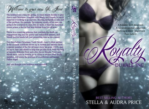 rOYALTYPRINT WRAP by StellaPrice
