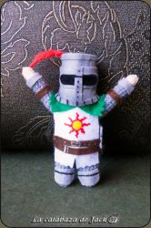 Solaire of Astora Amigurumi (Dark Souls) by cristell15