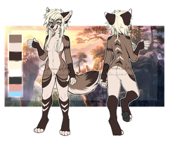 .: Anthro Female Canid Adoptable :. [CLOSED] by Cannidae