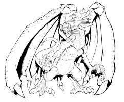 Dragon Inks by mikebowden