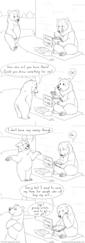 Greedy Artists by Bear-hybrid