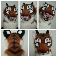 Tiger Head Auction by therealurubabe