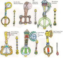 Hanna Barbera KeyBlades 2 by CooperGal24