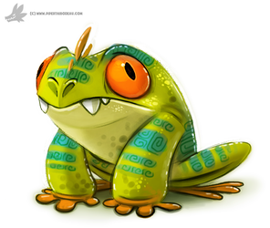 Day 776. Mutant Tree Frog by Cryptid-Creations