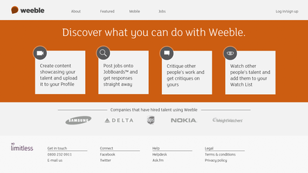 Weeble Homepage by thegbdc