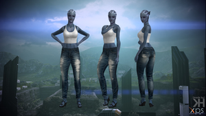 Liara Jeans for XPS by Grummel83