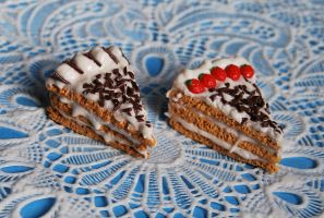 Chocolate Cakes by Madizzo