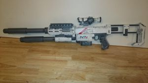 Mass effect Nerf recon by AlTheGeek