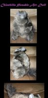 Chinchilla Posable Art Doll by Killslay-steelclaw