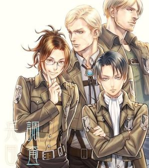 Scouting Legion High School|1|Erwin x Reader by Anxnymous on DeviantArt